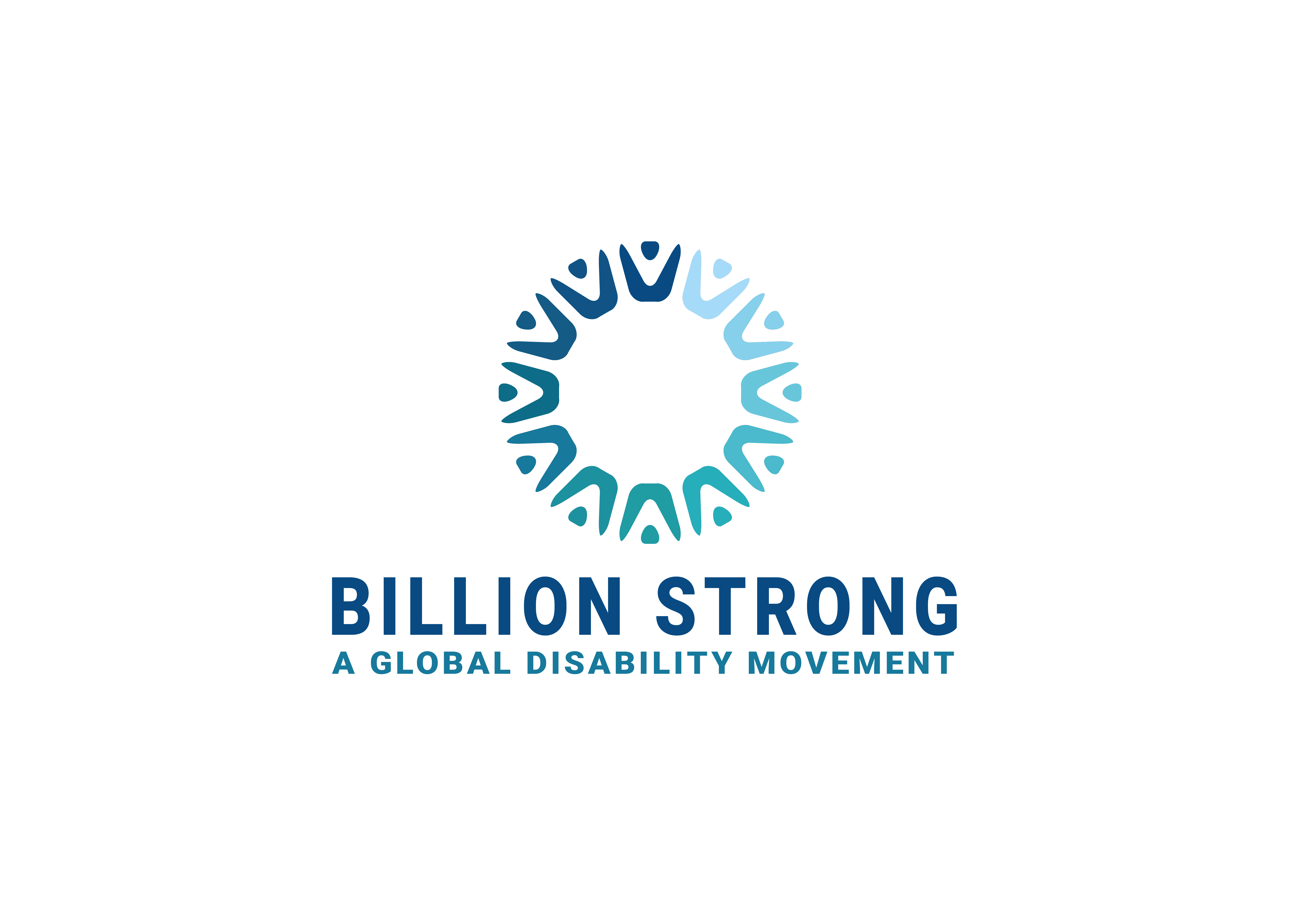 Billion Strong logo with text 'A Global Disability Movement'