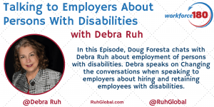 Talking to Employers About Persons With Dissabilities Banner