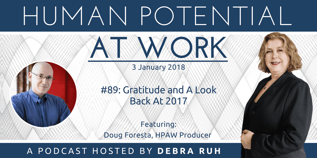 Episode Flyer for #89: Gratitude and A Look Back At 2017