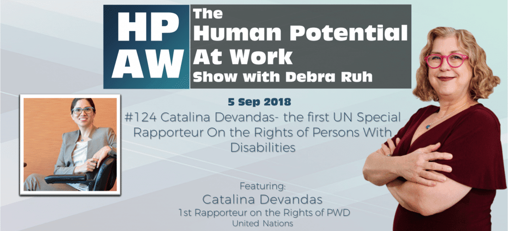 Catalina Devandas- the first UN Special Rapporteur On the Rights of Persons With Disabilities