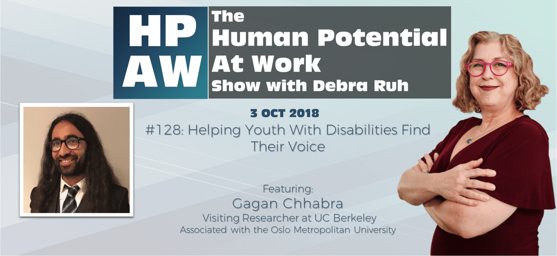 Episode Flyer for #128 Helping Youth With Disabilities Find Their Voice