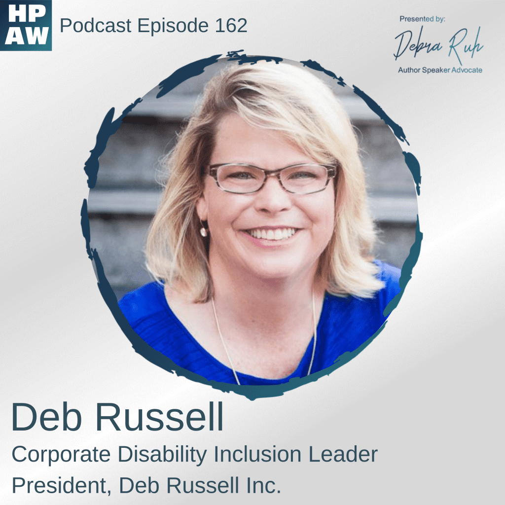 Deb Russel Episode 162 on HPAW with Debra Ruh