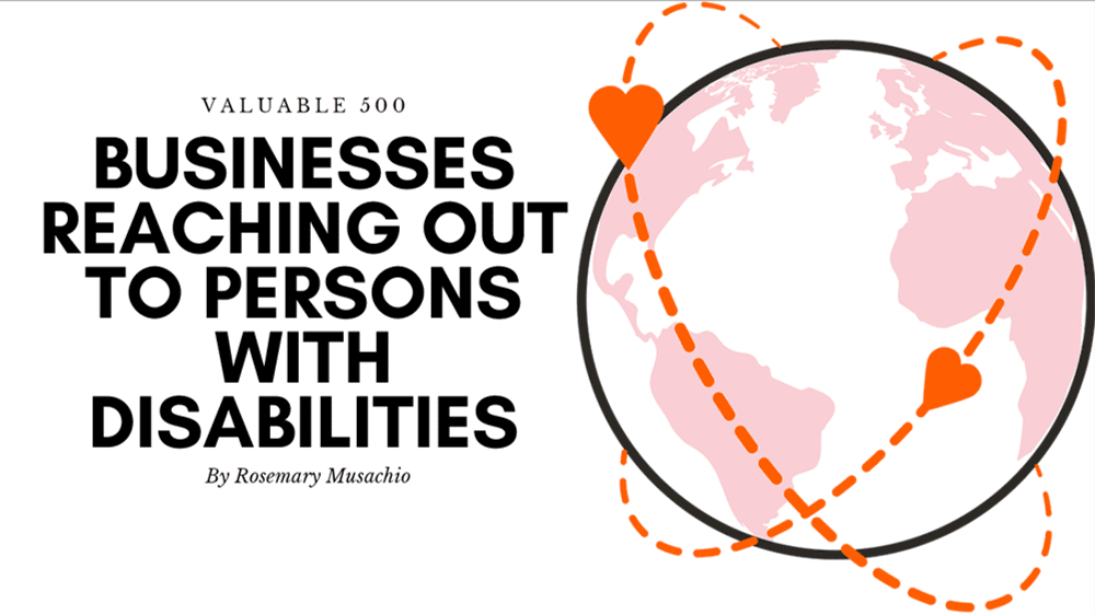 Businesses Reaching Out to Persons with Disabilities by Rosemary Musachio