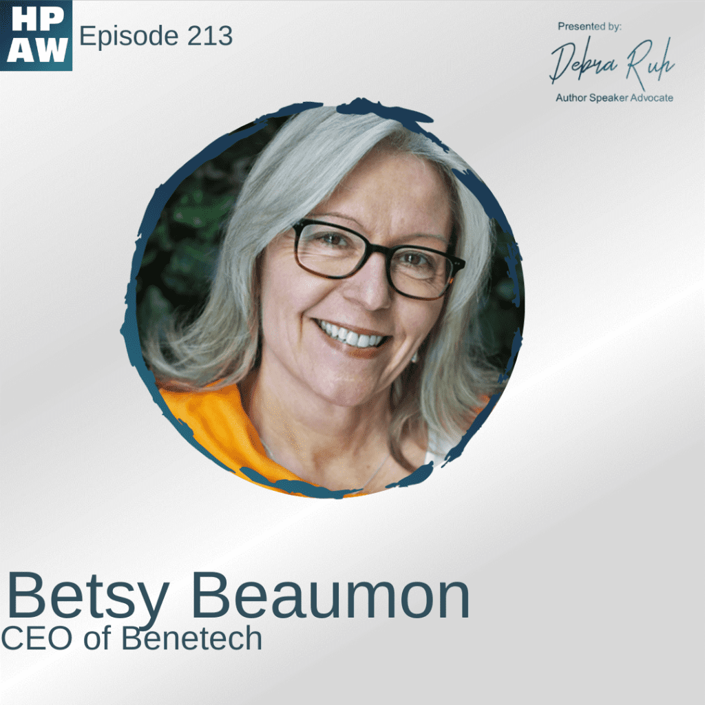 Betsy Beaumon CEO of Benetech
