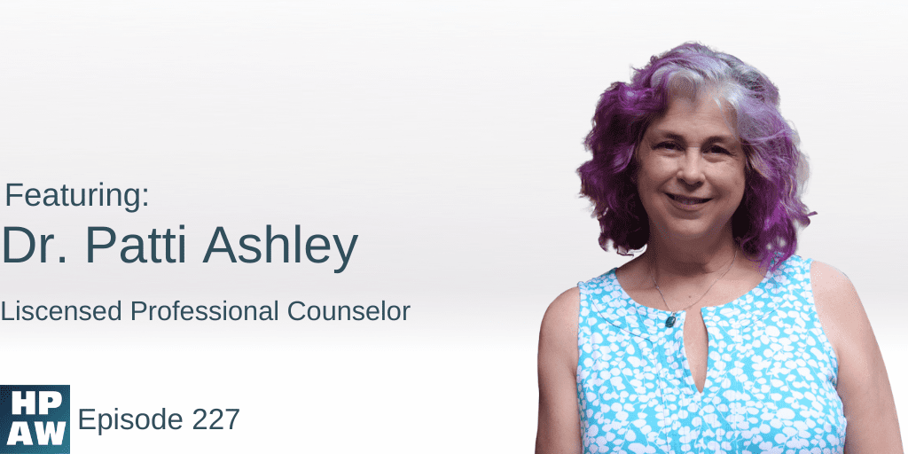 Dr Patti Ashley Liscensed Professional Counselor
