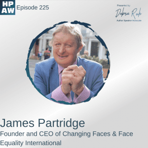 James Partridge Founder and CEO of Changing Faces & Face Equality International