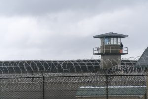 Guard Tower Barbed Wire Fence Boundary Federal Prison