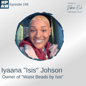 """Iyaana """"Isis"""" Johson Owner of """"Waist Beads by Isis"""""""