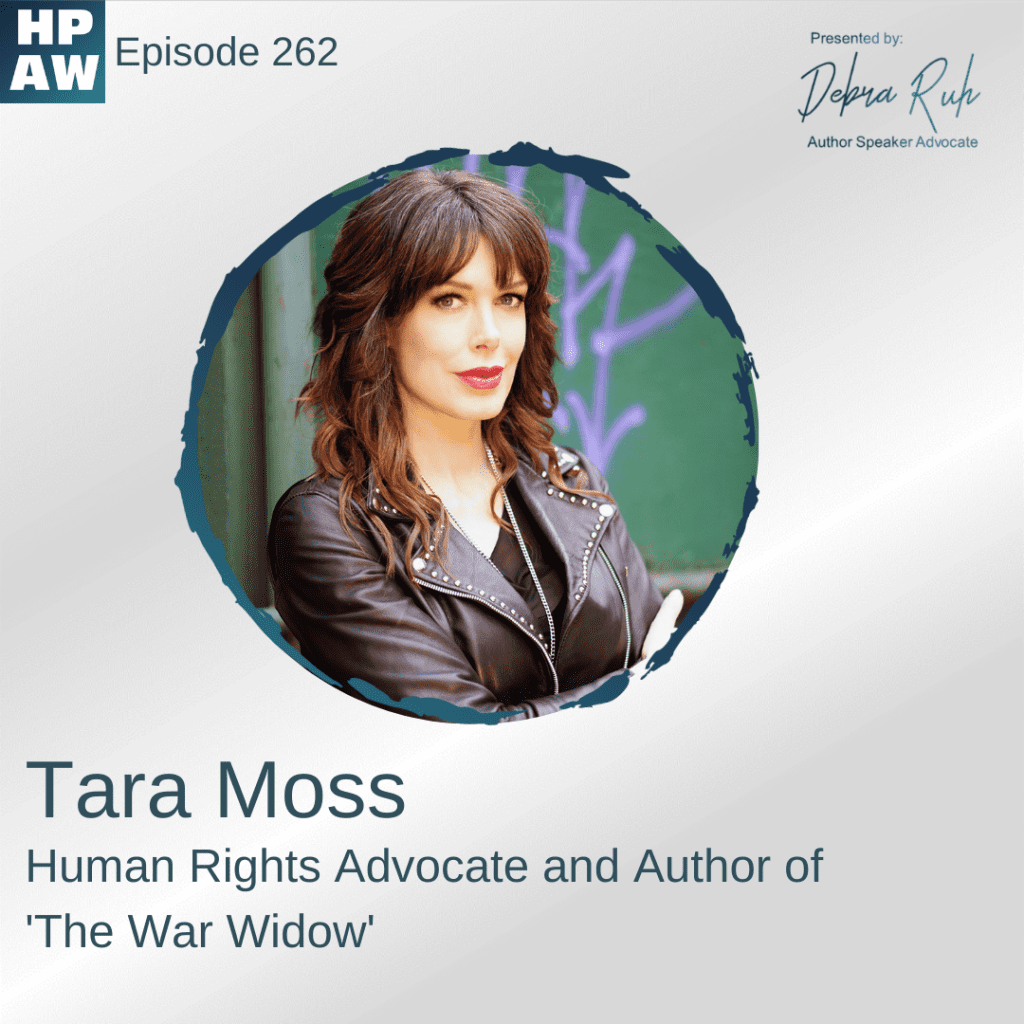 Tara Moss Human Rights Advocate and Author of the war widow