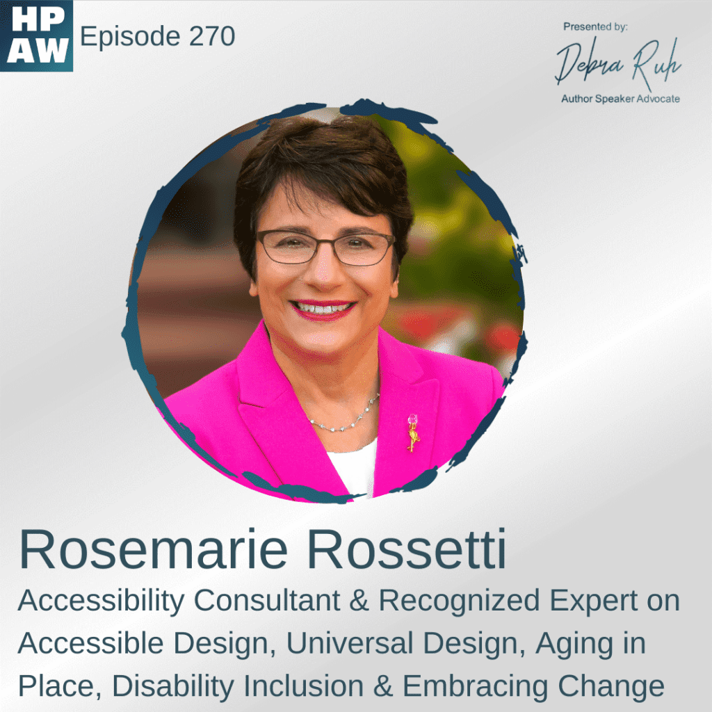 Rosemaria Rossetti accessibility consultant & expert on accessible design