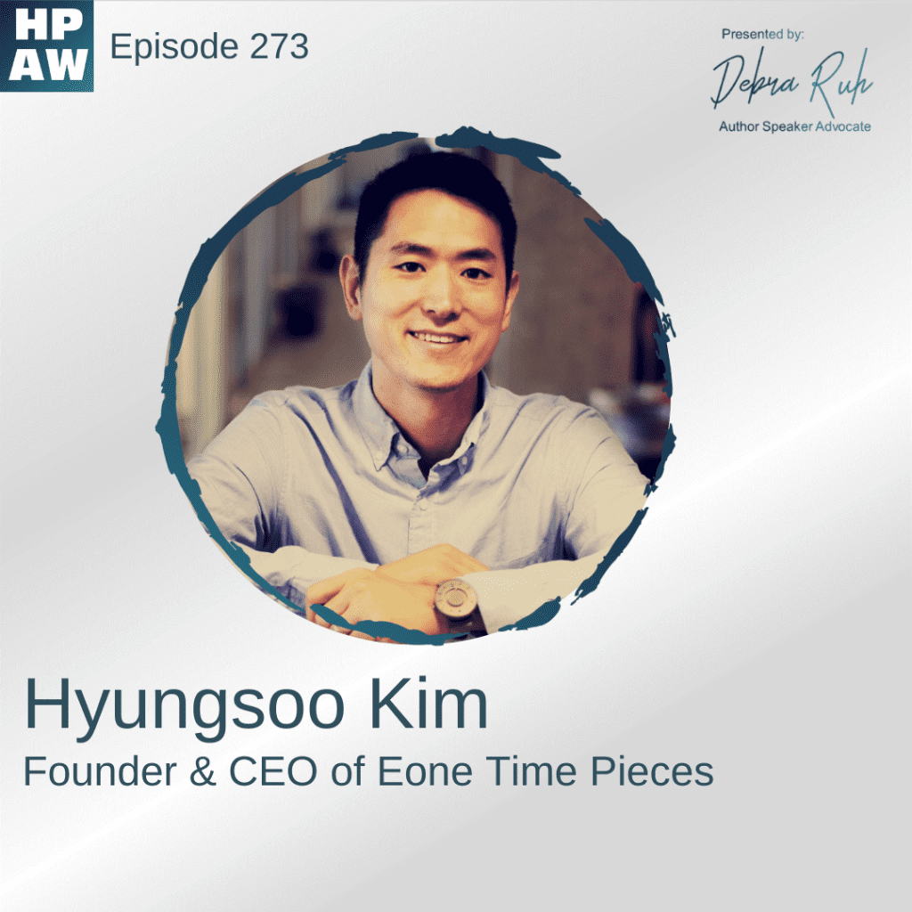 Hyungsoo Kim Founder and CEO of Eone time pieces