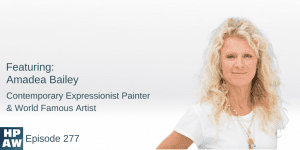 Amadea Bailey Contemporary Expressionist Painter & World Famous Artist